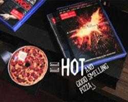 DVD-диски с запахом пиццы от «Domino`s Pizza»
