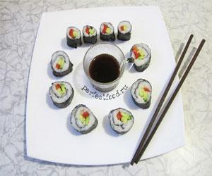 Как приготовить вкусные суши дома?